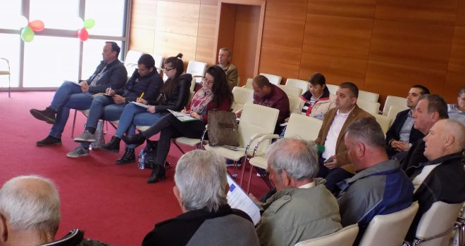 Training for wine growers and wine-makers was held in the town of Harmanli under the project DIONYSOS